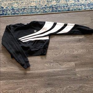 Adidas cropped crew neck